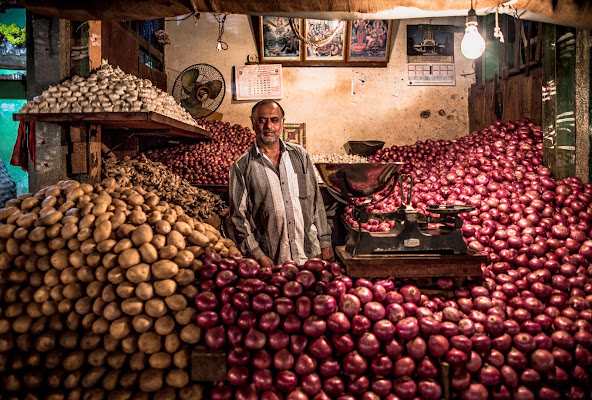 The man of onions di Marco Tagliarino