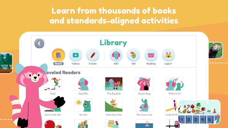Khan Academy Kids: Free educational games & books Screenshot 1