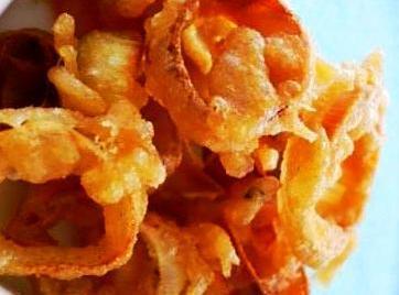 Crispy Fried Leek Rings Recipe
