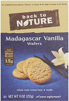 Back To Nature Madagascar Vanilla Wafers