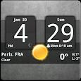 Sense Analog Clock Widget Dark icon