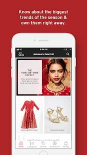 Tata CLiQ Online Shopping App India Screenshot