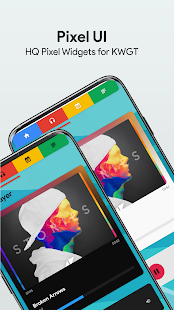 Download Pixel UI - High Quality Pixel Widgets for KWGT For PC Windows and Mac apk screenshot 4