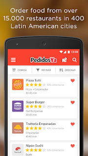 PedidosYa - Food Delivery screenshot 00