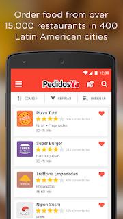 PedidosYa - Food Delivery screenshot 00