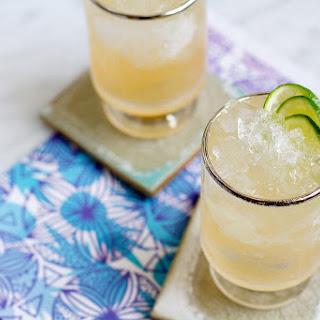 Guava Mezcal Mule Cocktail.