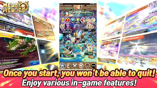 Medal Heroes : Return of the Summoners Mod Apk Download For Android and Iphone 7