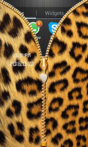 玩免費工具APP|下載Leopardのジッパーの画面のロック app不用錢|硬是要APP