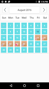 Baby Planner - Ovulation Tracker- screenshot thumbnail