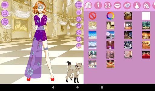 Avatar Maker: Anime Lady screenshot 18