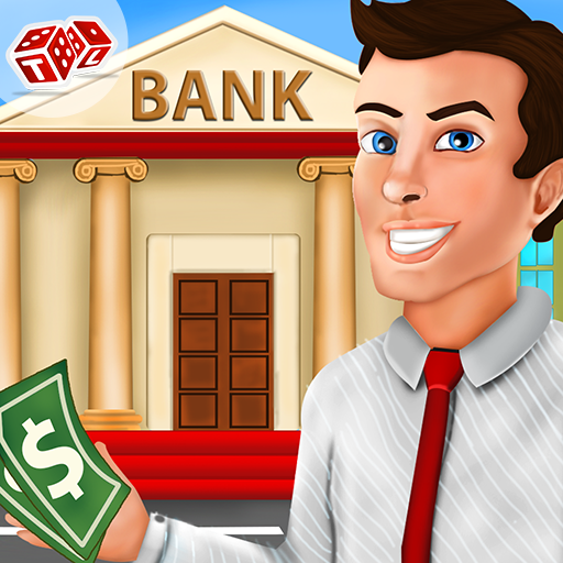 Bank Cashier Manager – Kids Game