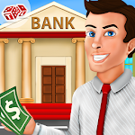Bank Cashier Manager – Kids Game Icon