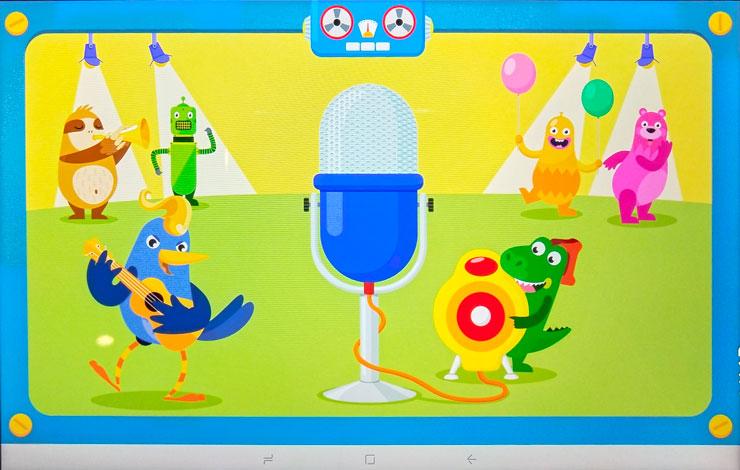 Salah satu aplikasi edukatif yang bisa dimainkan bersama antara anak dan orang tua. Foto: Dicky