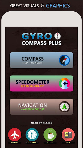 Gyro Compass App for Android Pro & GPS Speedometer screenshot 4