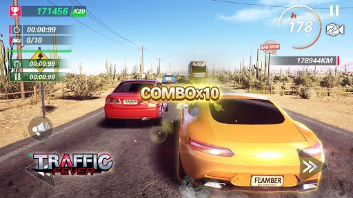 Traffic Fever-jeu de course fond d'écran 1