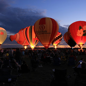 Balloon Rally #2 by Amy Sauer - Transportation Other