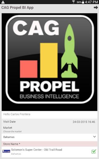 CAG Propel BI APP