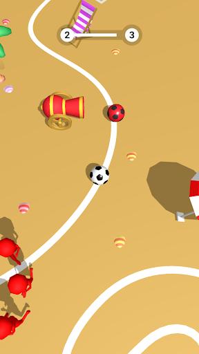 Télécharger Jeu de Football 3D mod apk screenshots 2