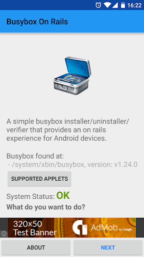 Busybox On Rails