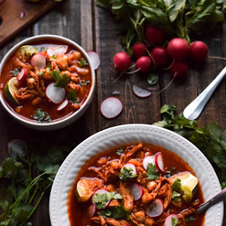 Mexican Slow Cooker Chicken Posole Recipe