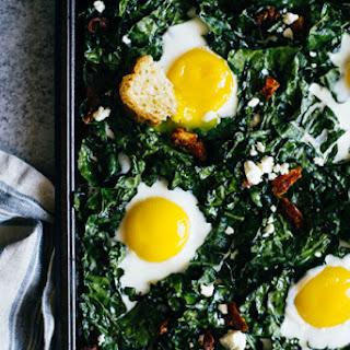Kale Eggs Cheese Recipes
