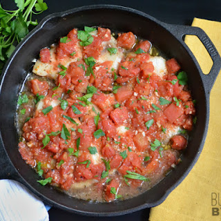 Baked Tilapia with Tomatoes.