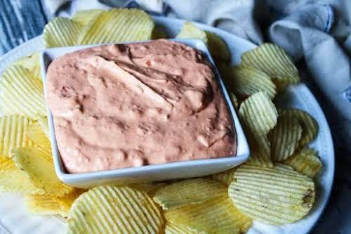 """Peggy's Holiday Cheese Dip """"If a generation had a dip to represent..."""