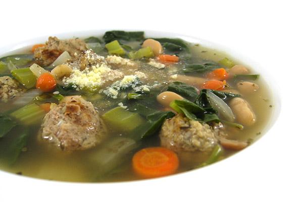 Skinny Italian Wedding Soup