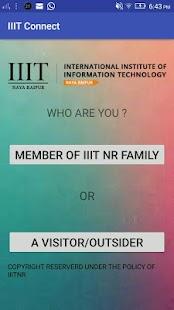 IIIT Connect screenshot