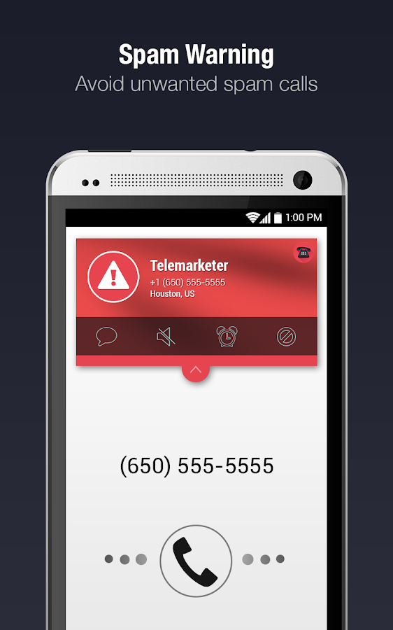 CIA - Caller ID & Call Blocker- screenshot