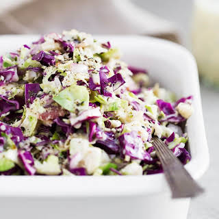 Whole30 Brussels Sprout Slaw.