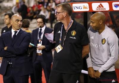 Roberto Martinez reageert op het nakende vertrek van Thierry Henry bij de Rode Duivels