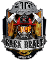 Logo of Tall Tales Back Draft