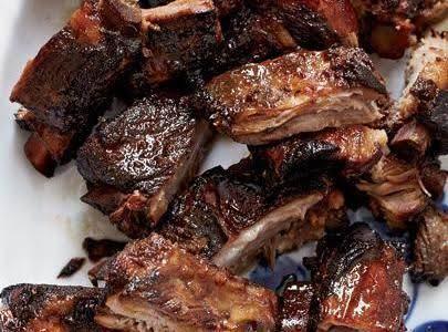 Honey Glazed Pork Spareribs