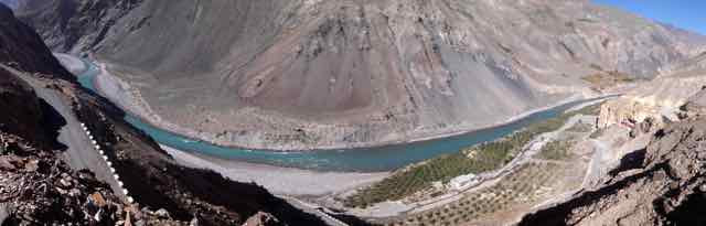 First View Of Spiti River