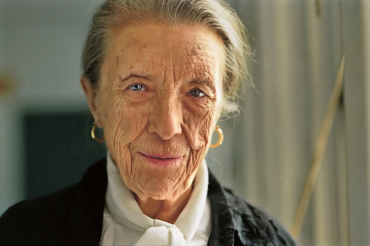 The artist, Louise Bourgeois. Photo: Photo Jeremy Pollard.