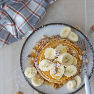 Five Ingredient Blender Pancakes