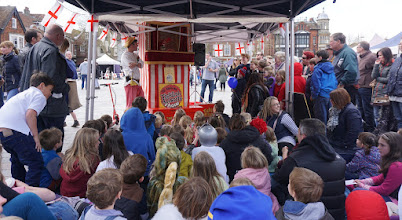 Photo: PUNCH AND JUDY SHOW