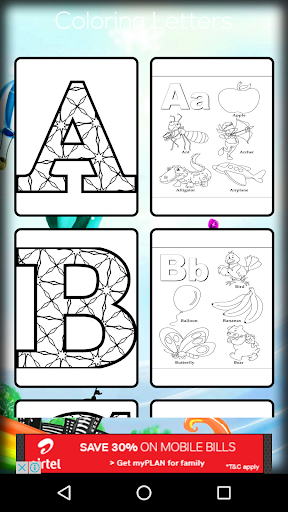 Coloring Letters