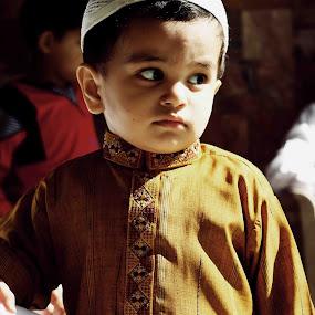Angry boy  by Arslan Mughal - Babies & Children Child Portraits ( kids children back lit, Emotion, portrait, human, people )