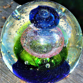 Crystal Ball by Allen Wright - Artistic Objects Glass