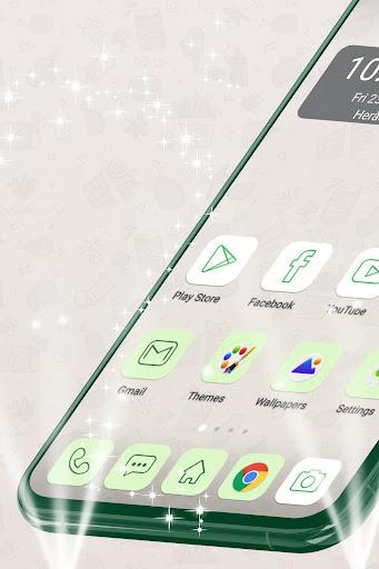 Launcher Theme for Whatsapp 1.264.1.24 screenshots 1