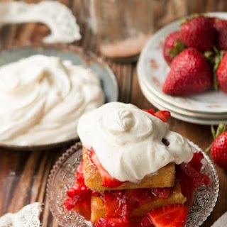 Italian Strawberry Shortcake.