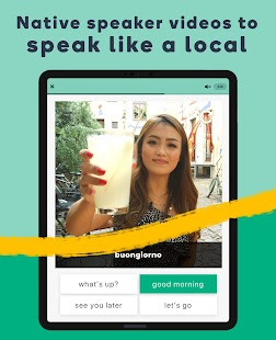 Learn Languages with Memrise - Spanish, French Screenshot