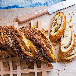 Valli Little's twisted Anzac bread.