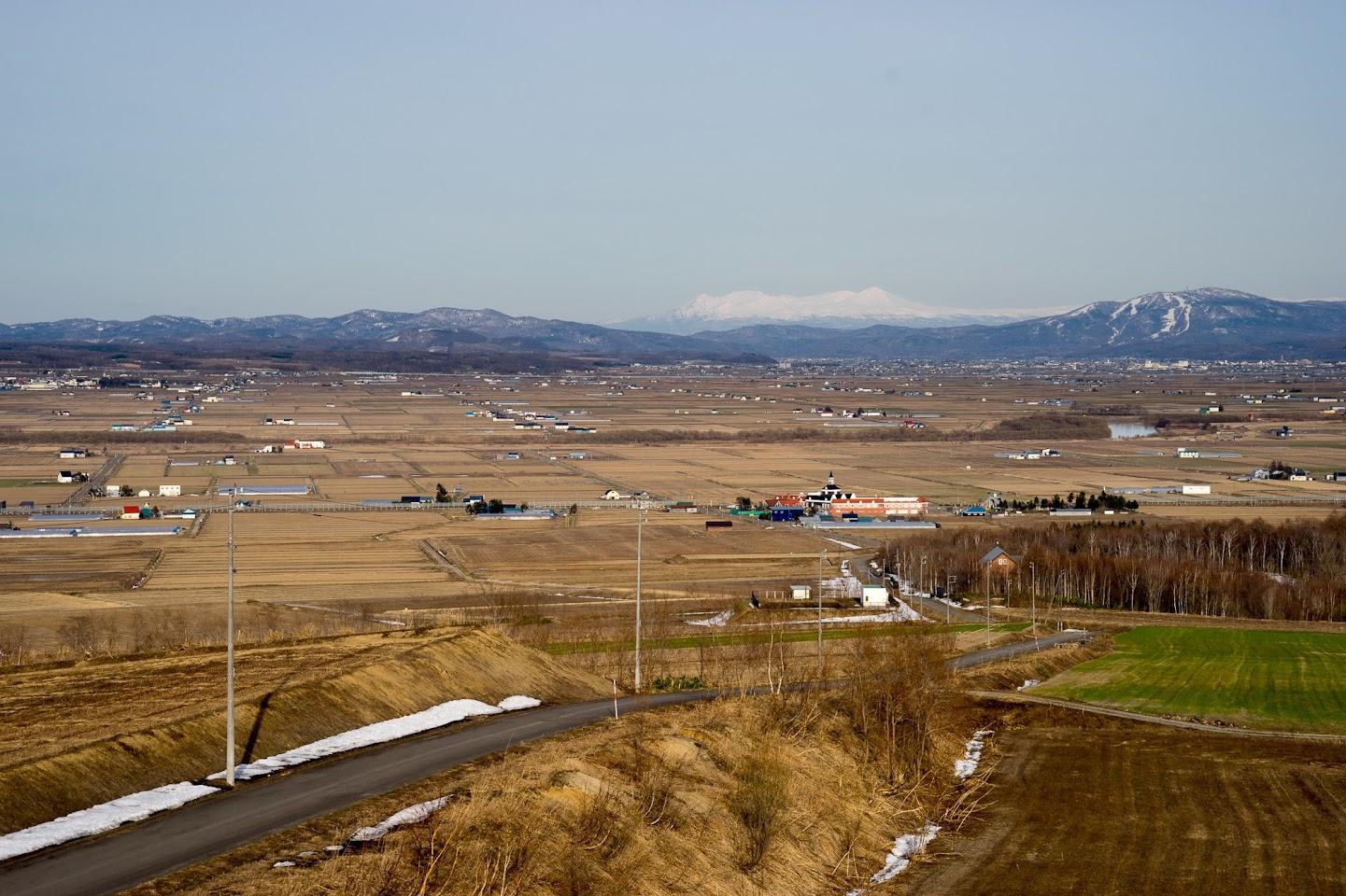 北竜町眺望の丘より
