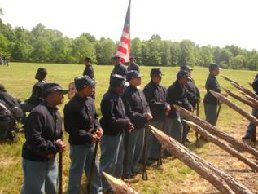 Photo: 1st USCT Cadets from Washington DC - 5th and 6th Grades