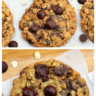 BFF Dark Chocolate Chip Oatmeal Cookies (GF or Not)