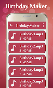 Birthday Video Maker screenshot 5