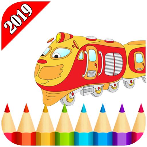 Trains Game Coloring For Adult 2019 Google Play De Uygulamalar